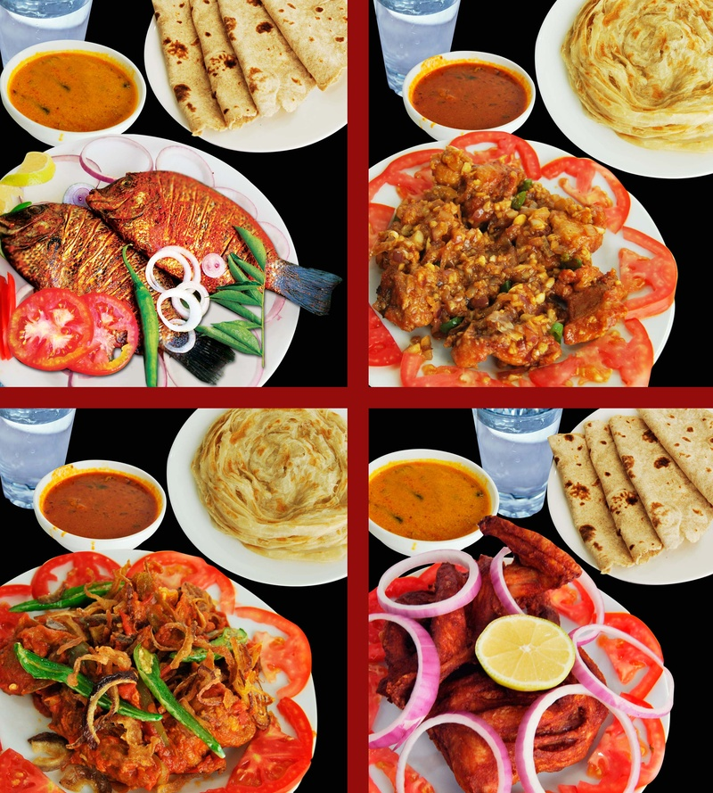 Snaps of few delicious options at TOI